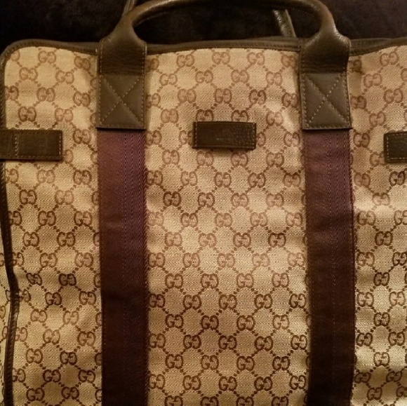 Gucci Handbags - Gucci tote large